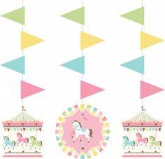 Carousel Hanging Cutout Decorations