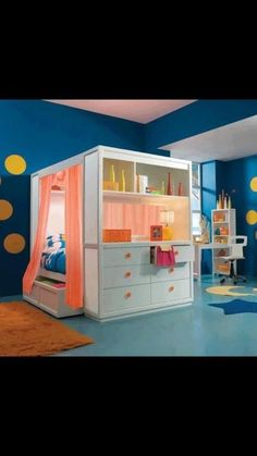 Girls bedroom...now if I only knew someone to build for me! Kenleigh would love this!