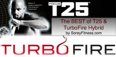 T25 TurboFire Hybrid Workout 5 Day Schedule Calendar - this is going to kick my ass!