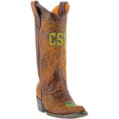 Gameday Colorado State Rams Ladies Cowboy Boots - Brown