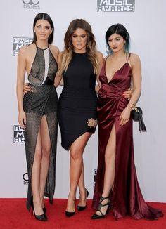 Khloe Kardashian Photos: Arrivals at the American Music Awards