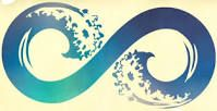 infinity sign with ocean wave in it - Google Search