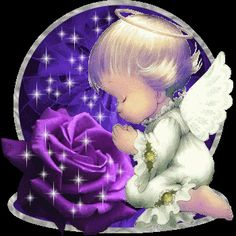 :: Forums :: check your private messages :: View topic - Gif babies Angel Images, Angel Pictures, Baby Engel, Baby Fan, Rose Violette, I Believe In Angels, Glitter Graphics, Guardian Angels, All Things Purple