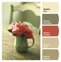 Paint colors from Chip It! by Sherwin-Williams Possible color pallet for living/dining