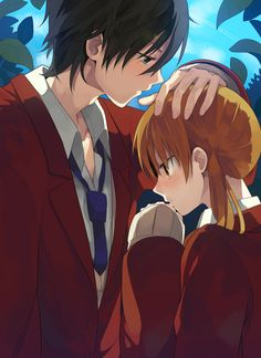 shizuku and Haru - Tonari no Kaibutsu-kun Shizuku And Haru, Shizuku Mizutani, Manga Love, I Love Anime, Awesome Anime, Manga Girl, Manga Couples, Cute Anime Couples, Cosplay Anime