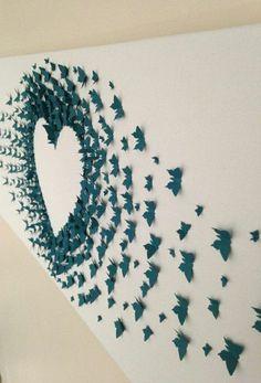 decoration avec figures origamis pliage papier bleu comment faire des figures en papier