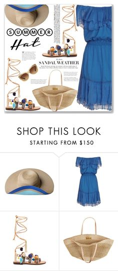 """""""Summer Hat"""" by mood-chic ❤ liked on Polyvore featuring Satya Twena, Designers Remix, Mabu by Maria BK, Flora Bella, Coach and summerhat"""