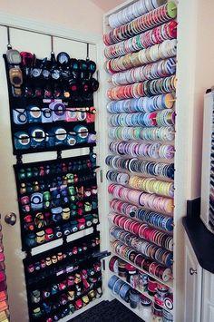 punch & ribbon storage | Flickr - Photo Sharing!