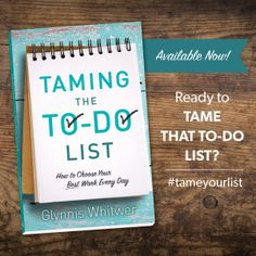 Taming the To-Do Lis
