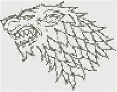 GAME OF THRONES - House Stark - Symbol  House Stark is one of the Great Houses of Westeros, ruling over the vast region known as the North from