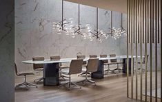 Inspiring Modern Dining Room Design Ideas – Decorating Ideas - Home Decor Ideas and Tips Office Space Design, Modern Office Design, Contemporary Office, Office Interior Design, Office Interiors, Home Interior, Modern Interior, Office Designs, Office Ideas