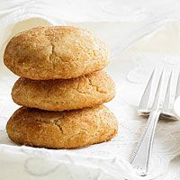 Classic Snickerdoodles - butter - sugar - cream of tartar - 2 eggs - vanilla - flour - sugar - cinnamon