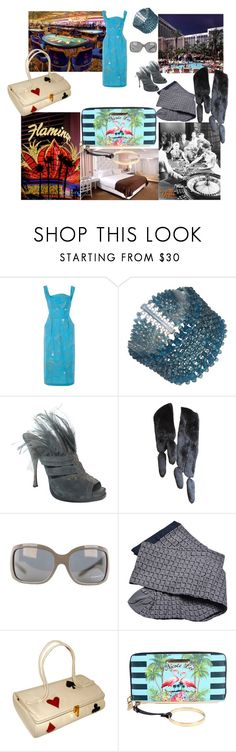 """""""Things I miss"""" by lerp ❤ liked on Polyvore featuring Alfred Shaheen, Marina J., Donna Karan, Oscar de la Renta, Givenchy, Chanel and Nicole Lee"""
