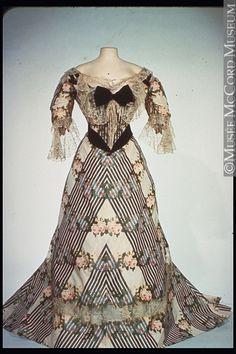 Evening Dress  Jean-Philippe Worth, 1900