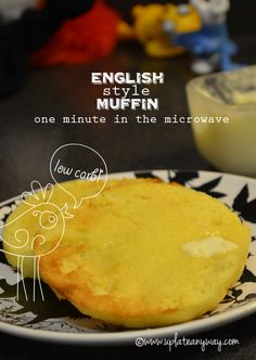 Minute English Style Muffin » Low Carb » Gluten Free