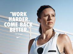 Ali Krieger for Nike. (Twitter)