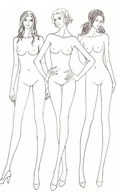 女装三人组合构图 - 堆糖 发现生活_收集美好_分享图片