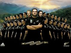 All Blacks Rugby, New Zealand