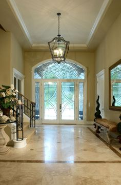 foyers and entryways   New Construction - Entryway ~ I want this entryway!  Beautiful!!!