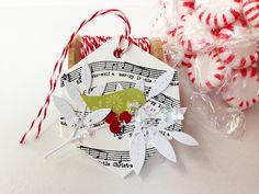 Merry Christmas Tag by Danielle Flanders for Papertrey Ink (October 2014)