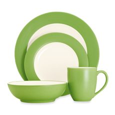Noritake® Colorwave Apple Dinnerware Collection - Bed Bath & Beyond TOTALLY in love with this color!!