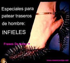 Zapatos especiales para patear traseros de hombres infieles... :D