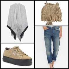 PONCHO WITH FRINGING @stradivariusfan   ~~ #Creeks #creepers by Laura Sánchez @Merkalcalzados ~~ 501® #JEANS FOR WOMEN @levisbrand ~~.