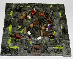 Hirst Arts Dungeon Diorama - Dungeons and Dragons