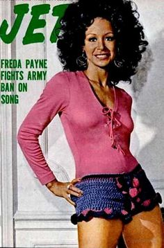Freda Payne on the cover of Jet magazine, 1971.
