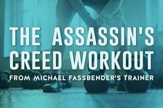"""If you admired Michael Fassbender's rippled physique in """"Assassin's Creed"""" or Jennifer Lawrence's out-of-this-world curves in """"X-Men: Days of Future Past,"""" you were admiring the work of United Kingdom-based personal trainer David Kingsbury. Assassins Creed Workout, Michael Fassbender Assassin's Creed, Big Muscle Training, Darebee, Tracy Anderson, Heath And Fitness, Phil Heath, Health Research, Gym Workout Tips"""