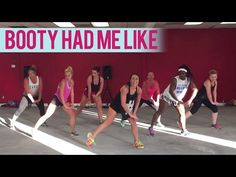 Round2Crew - Booty Had Me Like (Dance Fitness with Jessica) - YouTube  found another good zumba channel today! She incorporates a lot of fitness moves too! 65 mins, 392 calories, 7/6/15