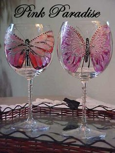 Pink Paradise Butterfly - A Collector's Must - A Stunning Design with character. $29.50, via Etsy.