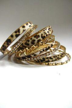 Leopard Bangles