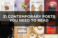 31 Contemporary Poets You Need To Read