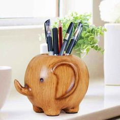 An elephant who'd rather work for pencils than peanuts. (& other things for my office...or as a gift for someone else's : ) )
