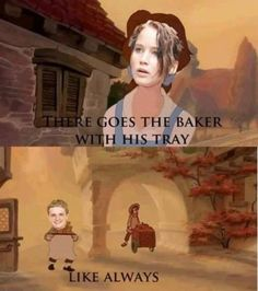 Beauty and the Beast meets The Hunger Games… Ahahaha probably shouldnt have been that funny.