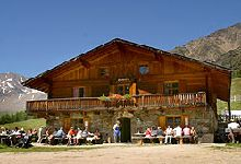 Jausenstation Eishof Schnalstal - Pfossental - Wandern in Südtirol