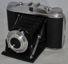 Vintage AGFA ISOLETTE II Folding Film Camera in a Good Condition