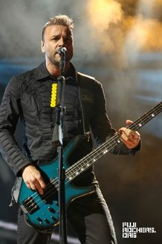 #ChrisWolstenholme #Muse live Fuji Rock festival, Japan, July 2015.