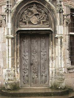 Berkeley Castle Door ~ Gloucestershire, England