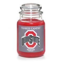 Ohio State University (MacIntosh) : Large Jar Candle : Yankee Candle