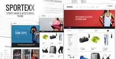 Sportexx - Sports & Gym Fashion WooCommerce Theme . Sportexx is a robust and flexible WordPress theme to help you make the most out of using WooCommerce to power your online store The design is best suited for Sports, Fitness and Gym like stores. However it can also be used for lot of other stores as