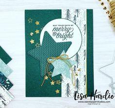 Create Christmas Cards, Homemade Christmas Cards, Stampin Up Christmas, Christmas In July, Holiday Cards, Christmas Stars, Fancy Fold Cards, Folded Cards, Its My Birthday Month