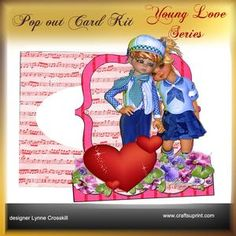 Young Love Series - POP OUT - Young Love