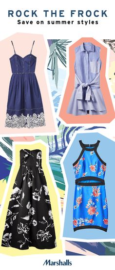 Warmer days mean more dresses. Discover this season's most-loved styles at prices that will wow. From day to night, you're sure to find the right dress for every occasion at Marshalls.