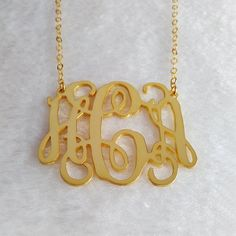inch Personalized Initial Necklace,Gold Monogram Necklace,Nameplate Necklace,Letter N Initial Necklace Gold, Nameplate Necklace, Letter Necklace, Personalized Jewelry, Custom Jewelry, Silver Rings With Stones, Custom Wedding Gifts, Monogram Initials, Letter Monogram