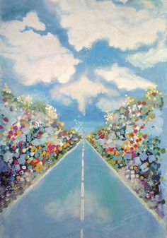 "Saatchi Art Artist MARLENE AMADOR; Painting, ""The Path"" #art"