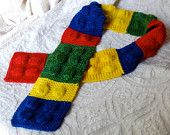 """This Lego Scarf is something I wish I had seen when my boys were little. So cool! I love small businesses and talented artists. This made by Lorajean of """"Knitted Wit"""""""