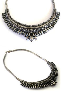 Sri Lanka - Kandy | High grade solid silver necklace | 19th century | 995$
