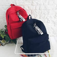 Cute Shoes For School Backpacks Stylish Backpacks, Cute Backpacks, School Backpacks, Backpack Outfit, Backpack Bags, Fashion Backpack, Shoes For School, School Bags, Tommy Hilfiger Bags